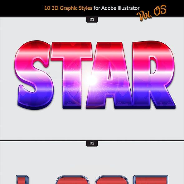 10 3D Styles vol. 05