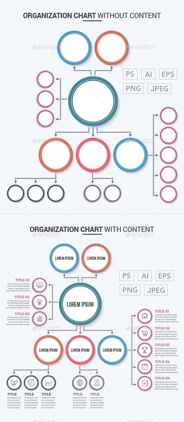 Organization Chart - Infographics