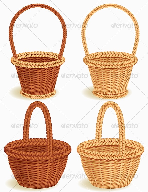basket - Man-made Objects Objects