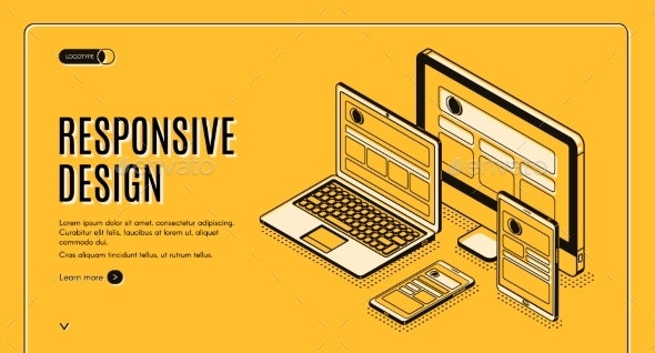 Responsive Design Landing Page - Computers Technology