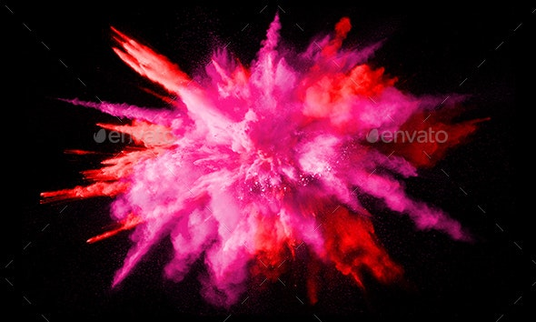 Colorful Background, Color Explosion - Abstract Backgrounds