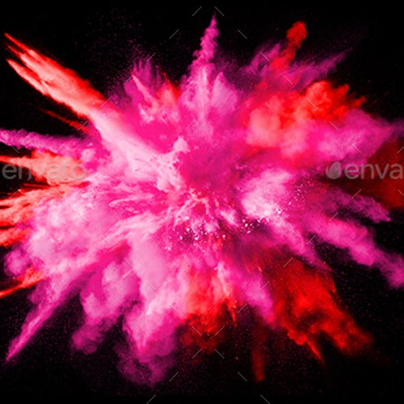 Colorful Background, Color Explosion