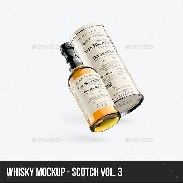 Whisky Mockup - Scotch vol. 3