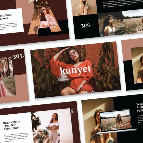 Kunyet - Fashion & Modeling PowerPoint