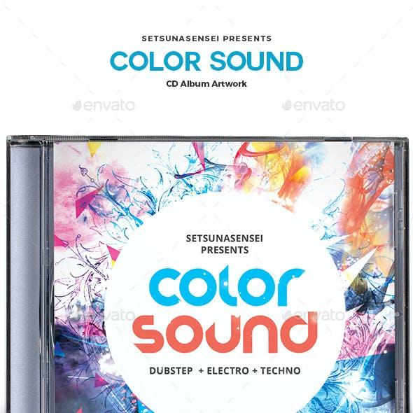 Color Sound CD Album Artwork