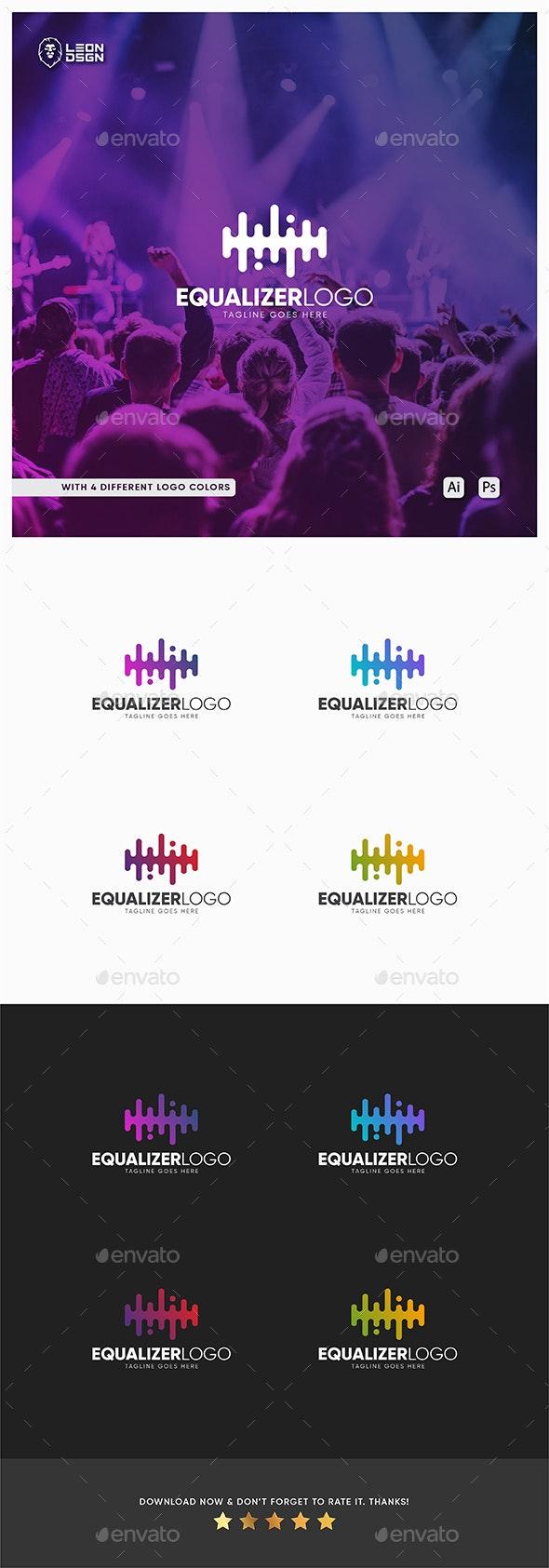 EQUALIZER LOGO TEMPLATE - Symbols Logo Templates