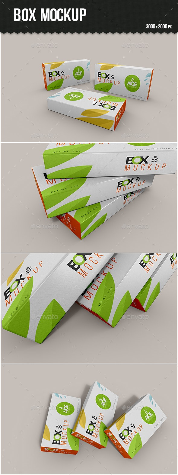 Box Mock-up - Packaging Product Mock-Ups