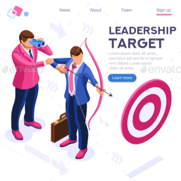 People Target Forward Concept