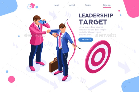 People Target Forward Concept - Concepts Business