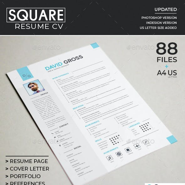 Resume/CV - Square