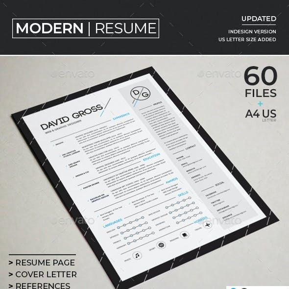 Resume/CV - Modern