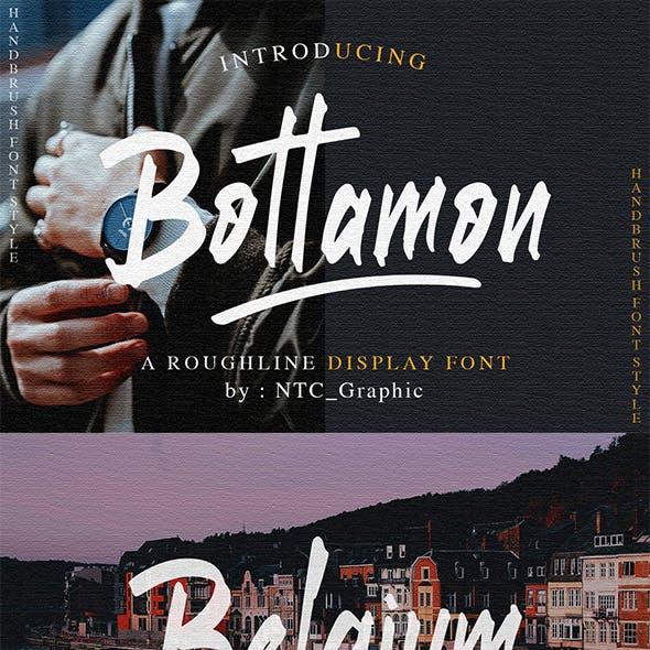 Bottamon Font Display