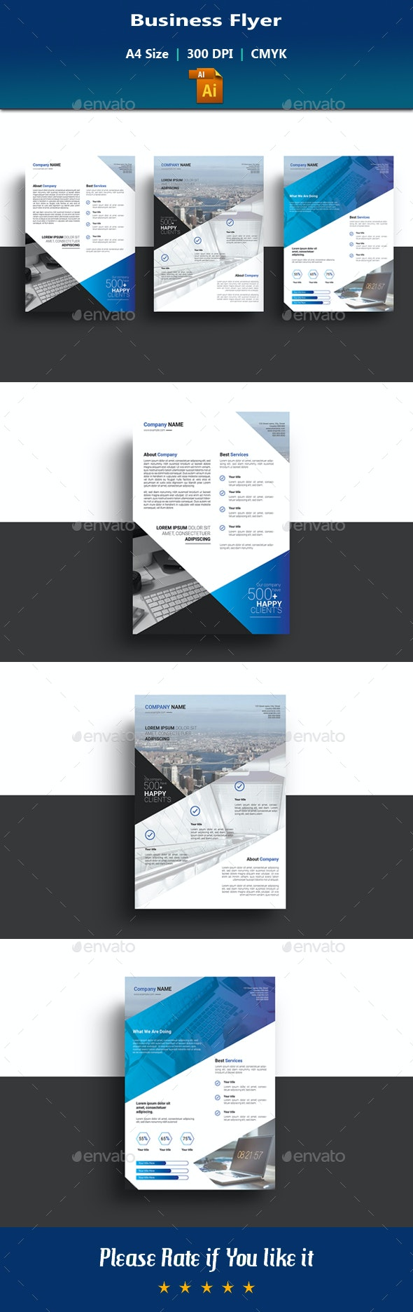 Business Flyer V12 - Corporate Flyers
