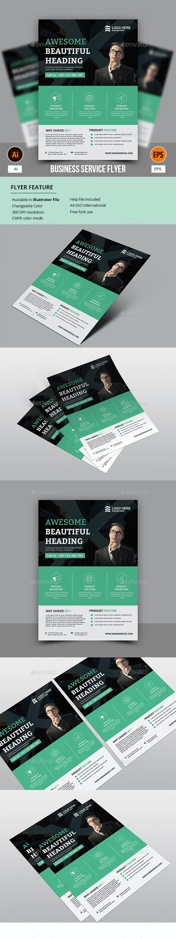 Business Service Flyer - Corporate Flyers