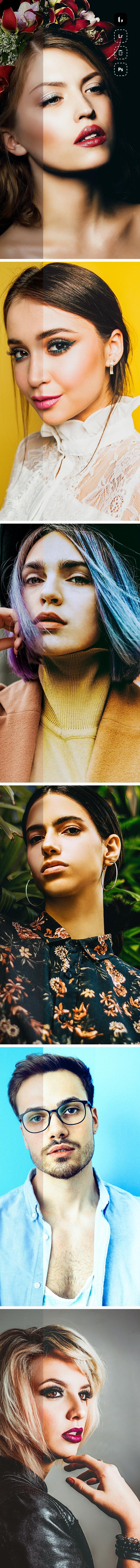 10 Portrait Profiles & Presets - Portrait Lightroom Presets