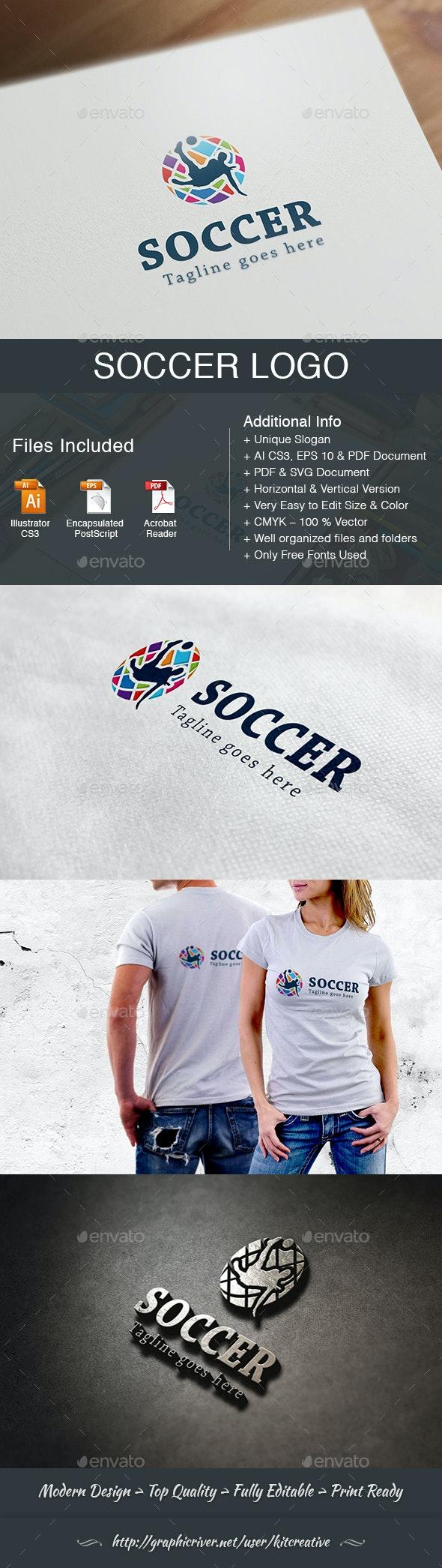 Soccer Logo - Football Sports