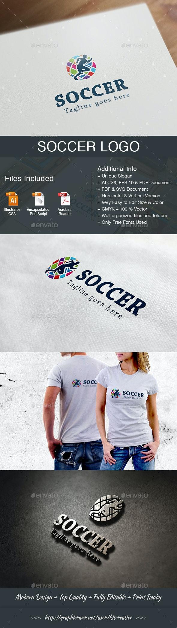 Soccer Logo - Sports Logo Templates