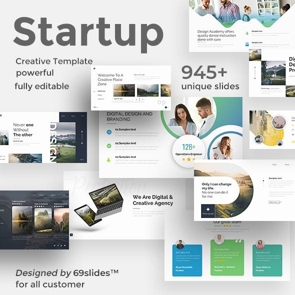 3 in 1 Easy Startup Bundle Pitch Deck Powerpoint Template