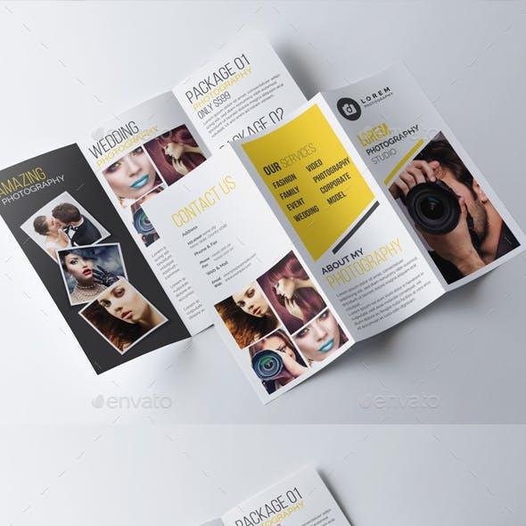 Photography Tri-Fold Brochure