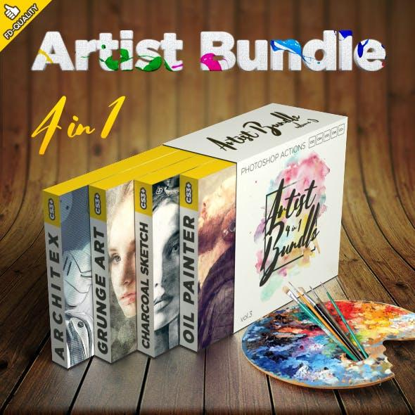 Artist 4 in 1 Bundle vol.3