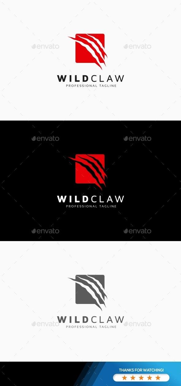 Wild Claw Logo - Symbols Logo Templates