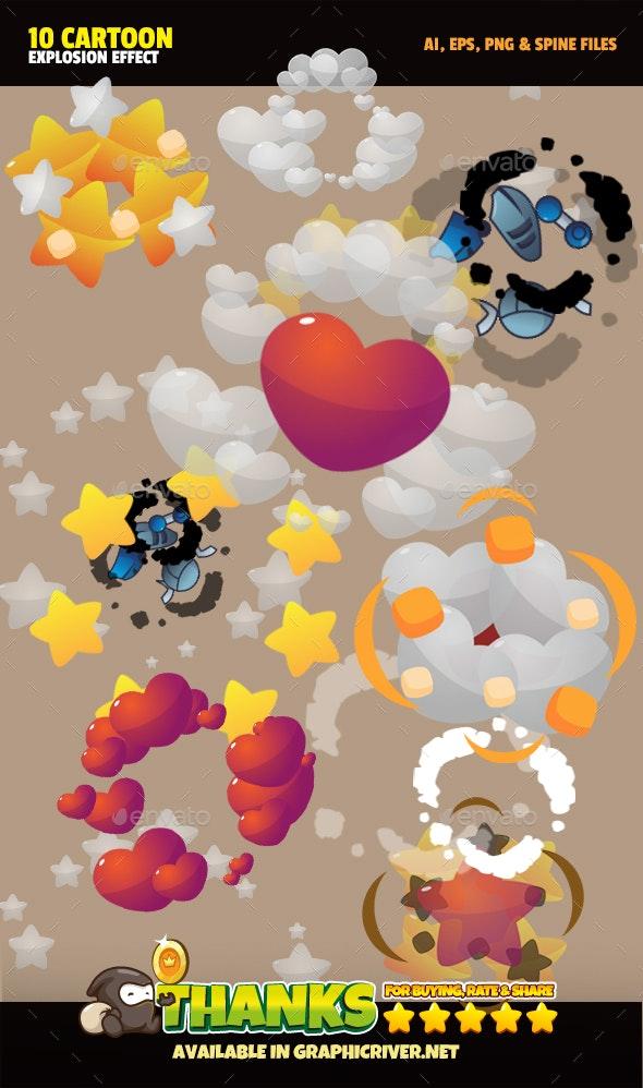 Explosion Fx2 - Sprites Game Assets