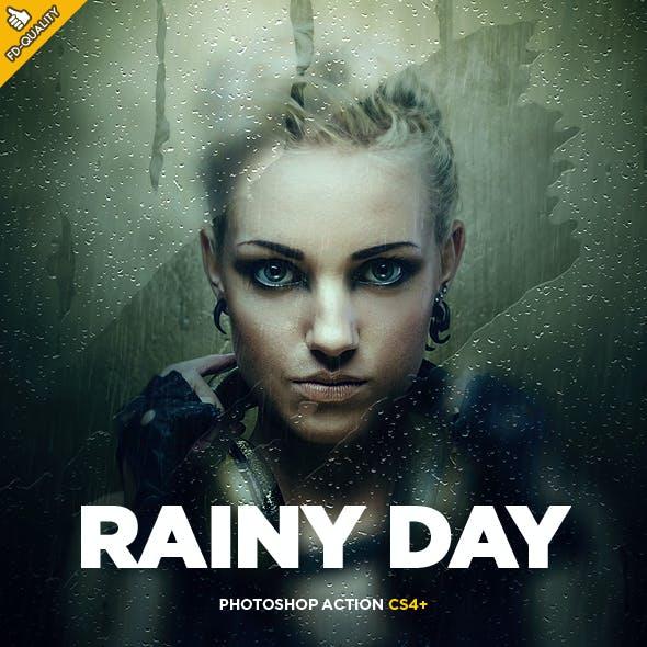 Rainy Day Photoshop Action CS4+