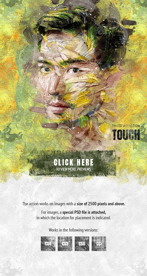 Touch Photoshop Action