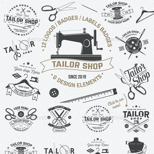 Tailor Shop Badges