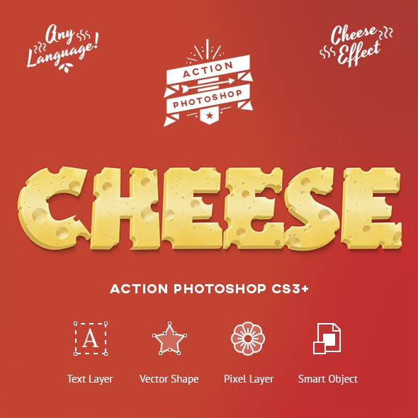 Cheese Photoshop Action