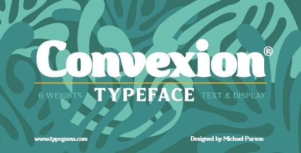 Convexion - Serif Fonts