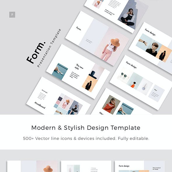 Form - Stylish Powerpoint Template
