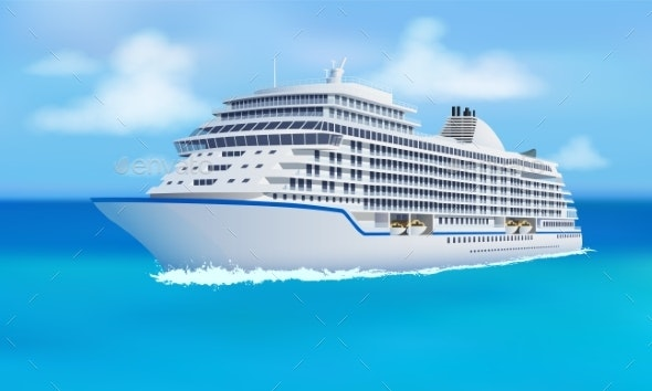 Great Cruise Liner - Man-made Objects Objects