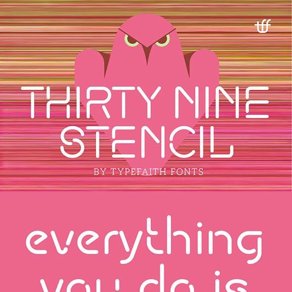 ThirtyNine-Stencil