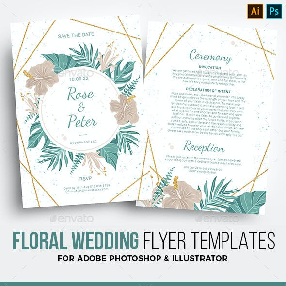 Wedding Invitation Template Graphics Designs Templates