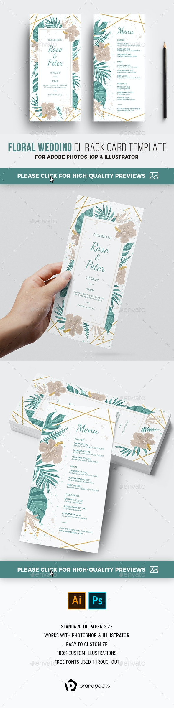 Wedding DL - Weddings Cards & Invites