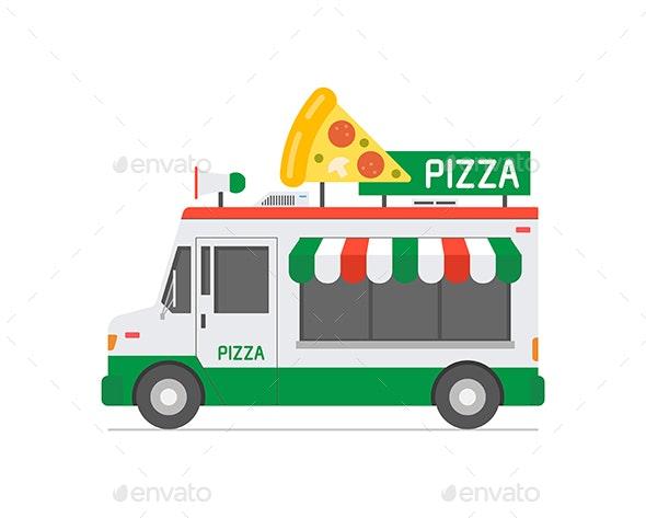 Pizza Food Truck - Food Objects
