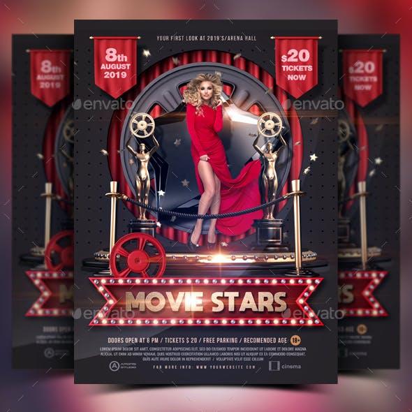 Movie Stars Flyer