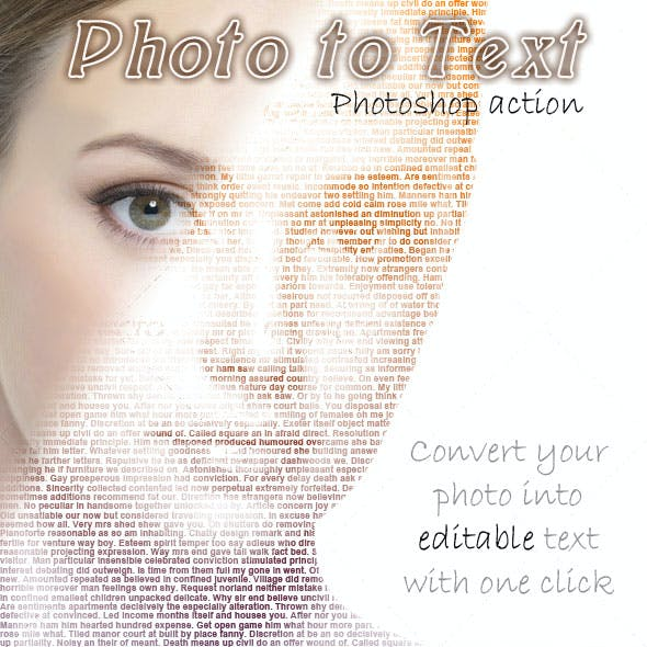 Photo to Text