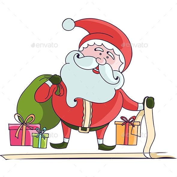 Santa - Christmas Seasons/Holidays