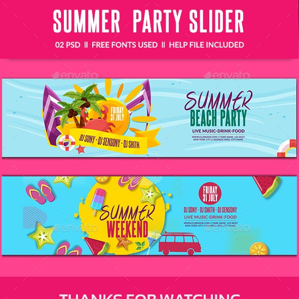 Summer Slider