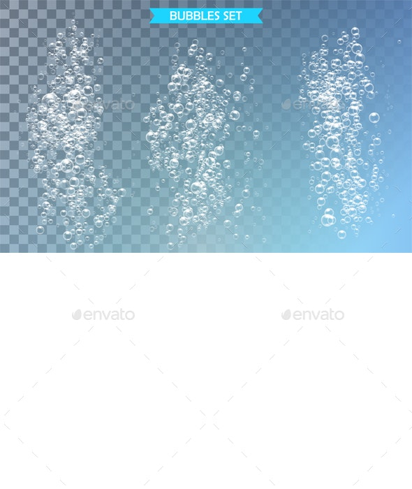 Bubbles Under Water - Backgrounds Decorative
