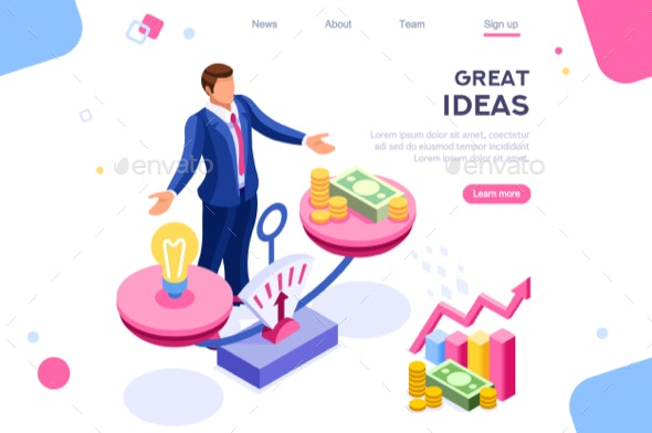 Idea Compare on Gold Balance - Concepts Business