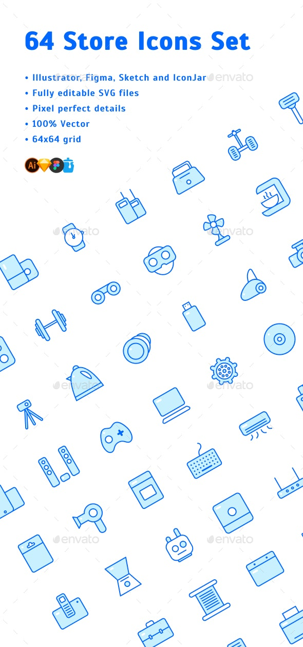Store Icons Set - Business Icons