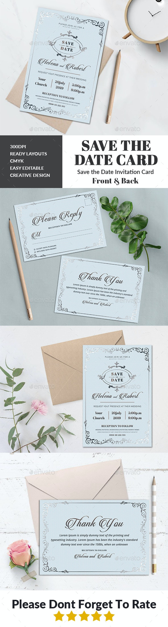 Wedding Invitation - Wedding Greeting Cards