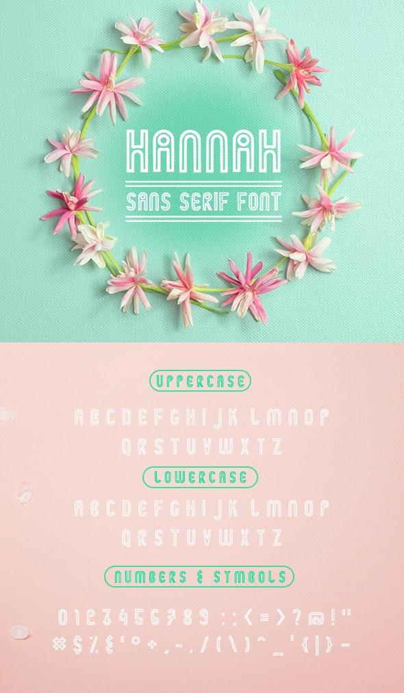 Hannah-Regular - Miscellaneous Sans-Serif