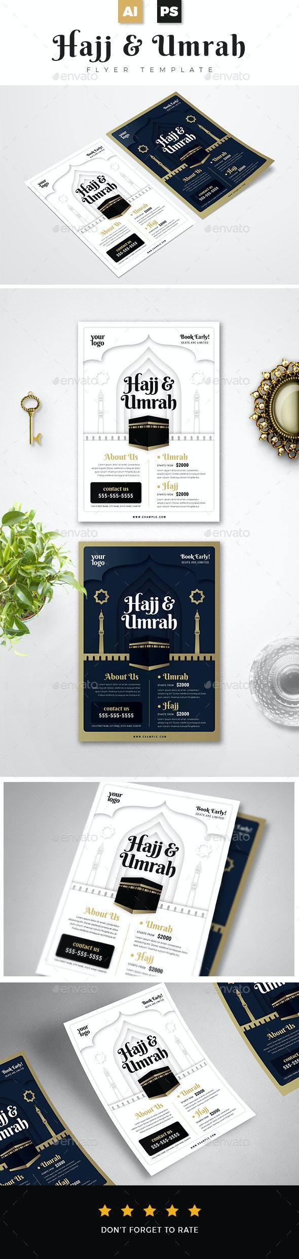 Umrah & Hajj Flyer Template - Corporate Flyers