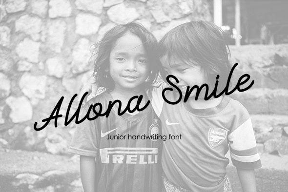 Allona Smile - Hand-writing Script