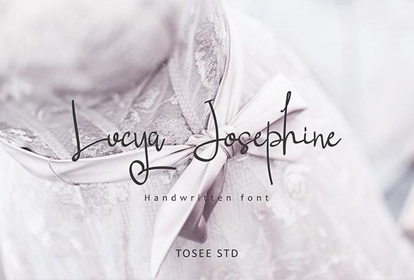 Lucya Josephine - Fonts