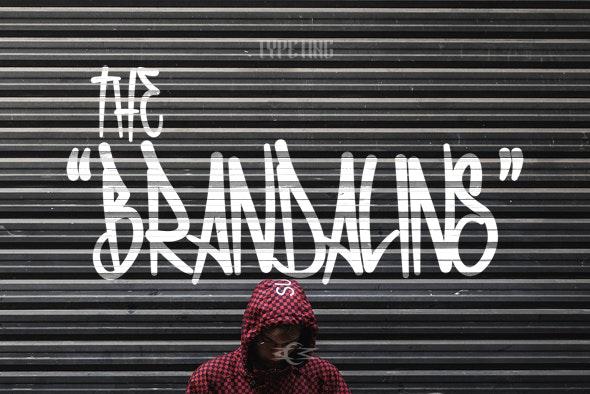 The Brandalins - Graffiti Fonts